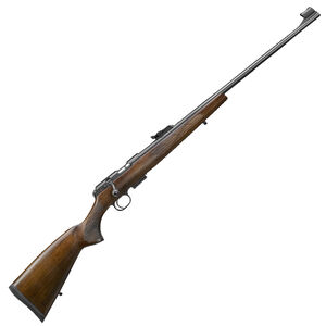 "CZ USA CZ 457 Lux .22 Long Rifle Bolt Action Rifle 24.8"" Barrel 5 Rounds DBM European Style Turkish Walnut Stock Black Finish"