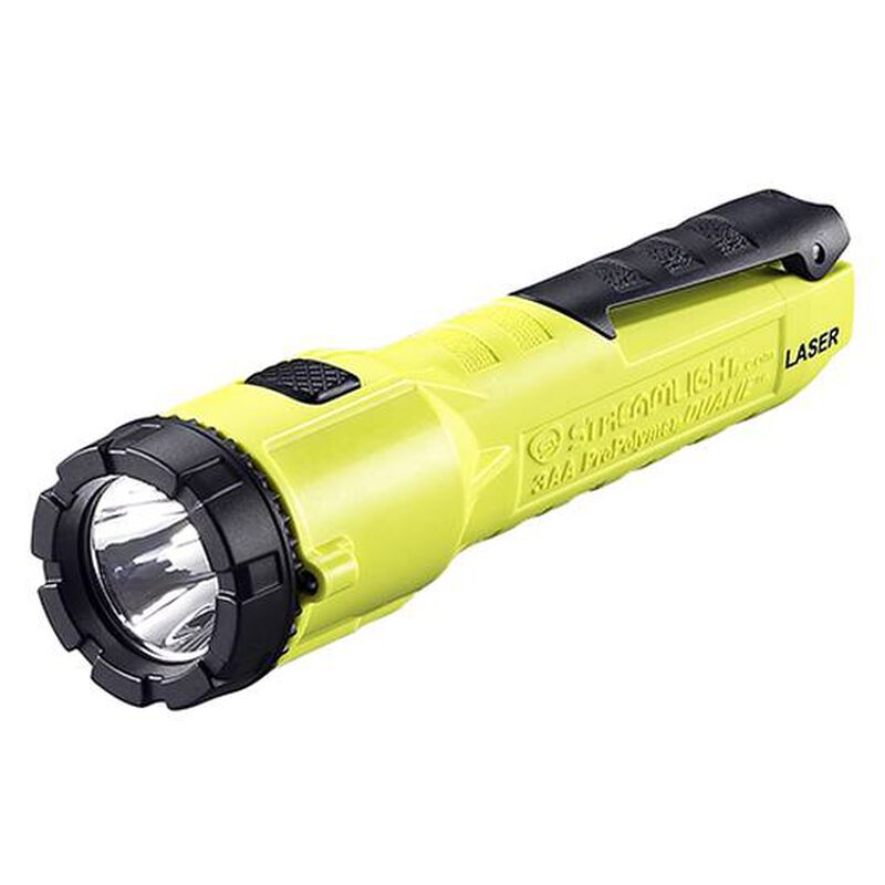 Streamlight 3AA ProPolymer Dualie Laser Flashlight Yellow