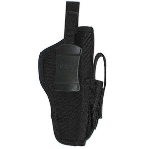 "BLACKHAWK! Ambidextrous Belt Holster Medium-Frame Autos 3"" to 4"" Barrels Mag Pouch Black Warranty"