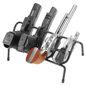 Lockdown 4 Handgun Rack Over-Molded Wire Construction Matte Black Finish