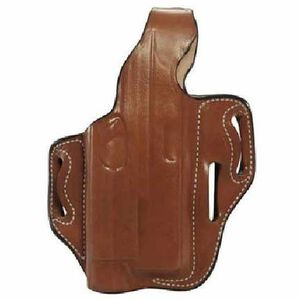"DeSantis ""The Tac-Lite"" Belt Holster For GLOCK 9/40 With Streamlight Right Hand Leather Tan 117TAW8Z0"