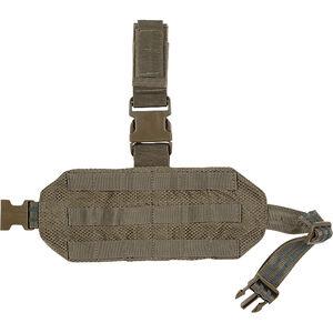 Voodoo Tactical MOLLE Compatible Nylon Mesh Drop Leg Platform Coyote 20-0129007000