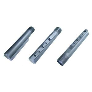 VLTOR RE-1 AR-15 Receiver Extension 5 Position Mil-Spec Diameter Extruded 7075-T6 Aluminum Hard Coat Anodized Matte Black