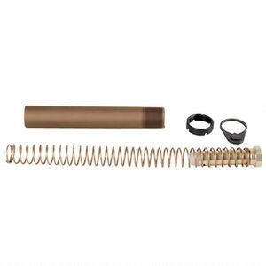 LBE Unlimited AR-15 Pistol Buffer Tube Kit, Brown
