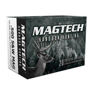 Magtech .500 S&W Magnum Ammunition 500 Rounds SJSP-FN 400 Grains 500A