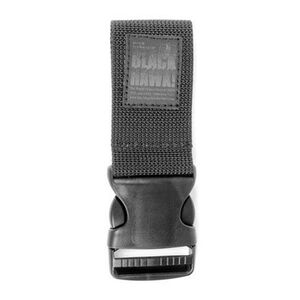 "BLACKHAWK! Elite Omega 2"" Drop Leg Extender Quick Release Black"