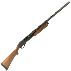 "Remington Model 870 Express Pump Action Shotgun 12 Gauge 26"" Barrel 4 Round Capacity Single Bead Sight Hardwood Stock Stain Finish Matte Blue Receiver/Barrel Finish"