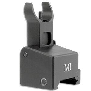 Midwest Industries AR-10 Flip-Up Front Sight Low Profile Aluminum Black MI-AR10-LAFFG