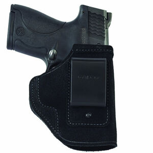 "Galco Stow-N-Go S&W J-Frame 3"" IWB Holster Revolver Right Hand Leather Black STO164B"