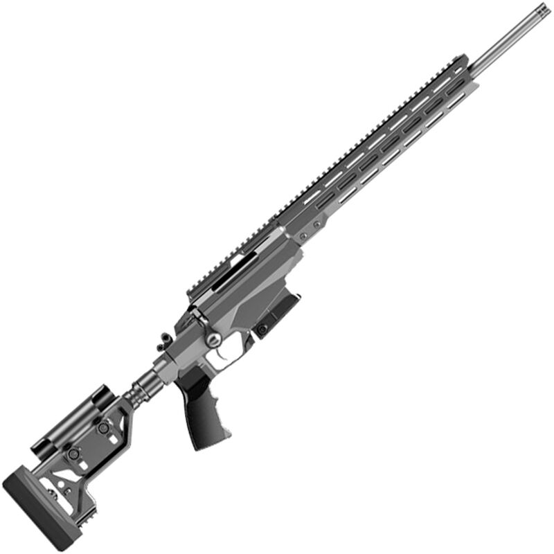 """Tikka T3x TAC A1 6.5 Creedmoor Bolt Action Rifle  24"""" Threaded Barrel 10 Rounds Right Hand Chassis with M-LOK Forend Black"""