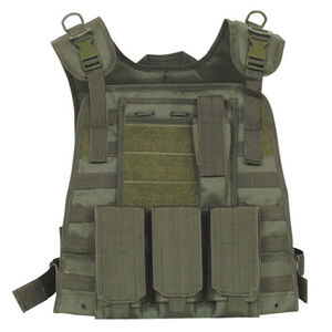 Fox Outdoor Modular Plate Carrier Vest Olive Drab