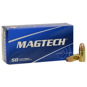 Magtech 9mm Luger Ammunition 50 Rounds JSP 95 Grains 9D