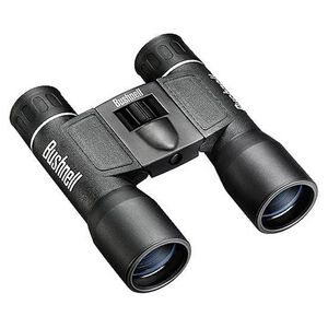 Bushnell Powerview Binocular 16x32 Mid-Size Roof Prism Black Rubber 12.4oz