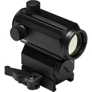 NcSTAR Micro Red and Blue Dot Reflex Sight 1/3 Co-Witness 3 MOA Dot Size Aluminum Black