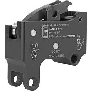 Geissele Automatics IWI Tavor Super Sabra Trigger Pack Two Stage 4.5 LBS Non-Adjustable Steel Black 05-267