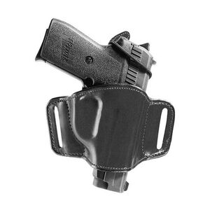 Bianchi Model 105 Minimalist Belt Holster Right Hand Fits Beretta 3032 Tomcat Leather Black