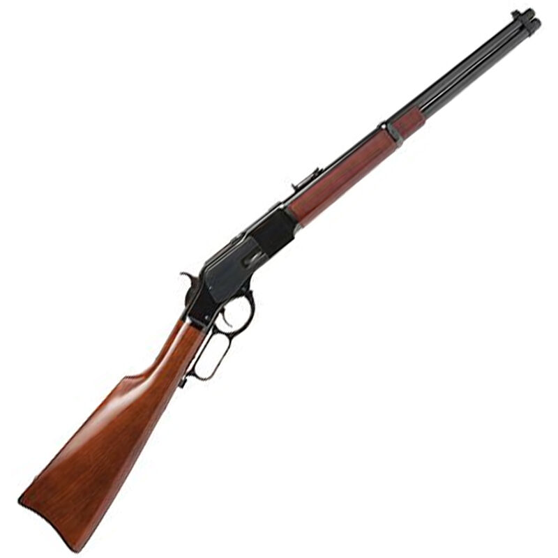 """Cimarron Firearms 1873 Carbine Lever Action Rifle .32-20 Winchester 19"""" Barrel 10 Rounds Walnut Stock Blued Finish"""