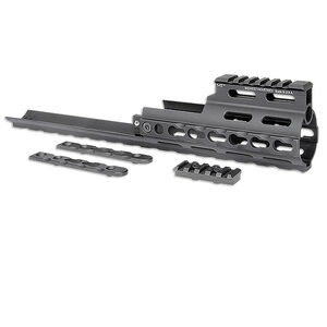 Midwest Industries SCAR Rail Extension KeyMod Aluminum Black MI-S1617-K