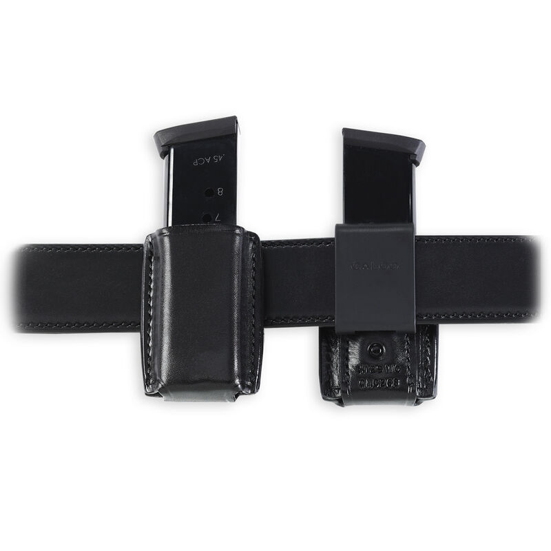 Galco QMC GLOCK M&P Double Stack Quick Magazine Carrier Leather Black