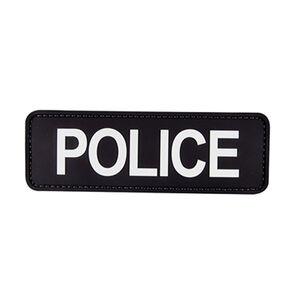 5ive Star Gear PVC Morale Patch Police Black