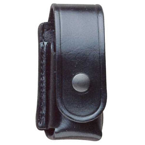 DeSantis Chemical Spray Holder Leather Nickel Snap Black U40BJ02Z1