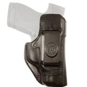 DeSantis Inside Heat Inside Waistband Holster Ruger LCR Right Hand Leather Black 127BAN3Z0