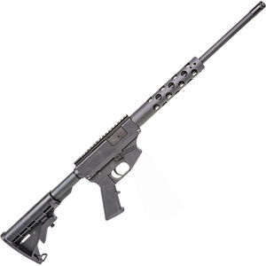 "Thureon Defense Basic Pistol Caliber Carbine Semi Auto Rifle 9mm Luger 16.5"" Barrel 17 Round GLOCK Magazine Billet Aluminum Receivers Round Handguard Black Finish"