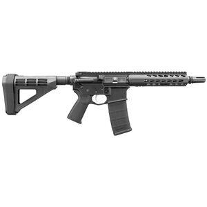 "Bushmaster SquareDrop .300 Blackout AR-15 Semi Auto Pistol 9.5"" Barrel 30 Rounds SquareDrop Free Float Handguard SB Tactical Pistol Brace Black Finish"