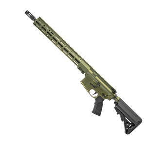 "Geissele SD556 Super Duty Rifle 5.56 NATO Semi Auto Rifle 16"" Barrel 15"" M-LOK Handguard SSA-E X Trigger 40mm Green"