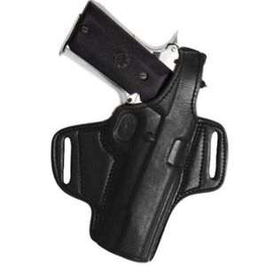 """Tagua BH1 Thumb Break Belt Colt Government 5"""" Holster Right Hand Leather Black BH1-200"""