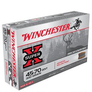 Winchester Super X .45-70 Government Ammunition 20 Rounds JHP 300 Grains X4570H