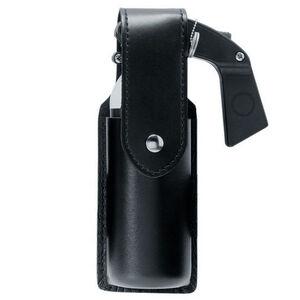 Safariland Model 38 OC/Mace Spray Holder STX Basket Weave Finish Hidden Snaps Black 38-48HS