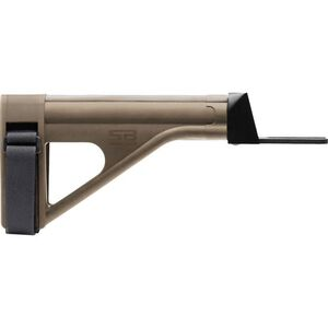 SB Tactical SOB47 AK-47 Pistol Stabilizing Brace Polymer Flat Dark Earth