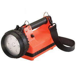 Streamlight E-Flood FireBox Flashlight C4 LED Dual Output 615 Lumen 6 Volt Rechargeable Battery Click Type Thermoplastic Body Orange 45811