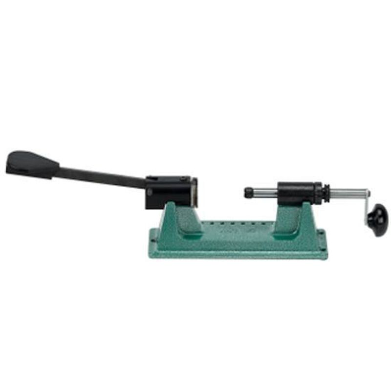 RCBS Trim Pro 2 Manual Case Trimmer With Spring Loaded Locking Mechanism No Pilots Steel Green 90365