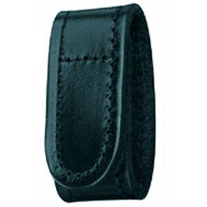 Gould & Goodrich Belt Keeper Leather Velcro Hi-Gloss Black H142CL