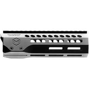 "Maxim Defense AR-15 Slimline M-SLOT Handguard, M-LOK Compatible, 7.25"", Aluminum, Free Float, Black"