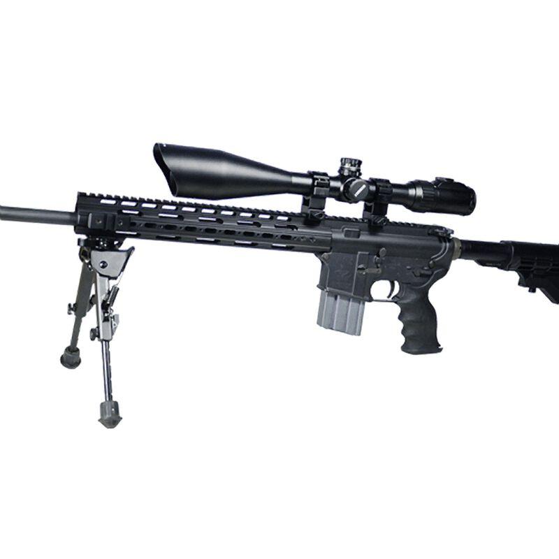 Leapers UTG 6-24x56 Rifle Scope Illuminated Mil-Dot Reticle 30mm Tube Integral Sunshade Matte Finish Black SCP3-UG6245AOIEW