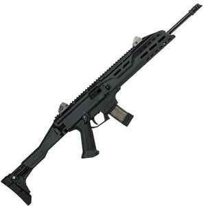 "CZ Scorpion EVO 3 S1 Carbine Semi Auto Rifle 9mm Luger 16.2"" Barrel 20 Rounds Collapsible/Folding Stock Polymer Frame Matte Black Finish"
