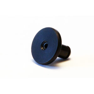 LongShot Round Smooth Oversized Magazine Release Button for Hi-Point TS Models Anodized Black