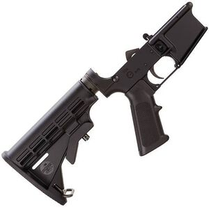 Bushmaster AR-15 Lower Receiver 6 Position Collapsible Stock A2 Grip Aluminum Black 92952