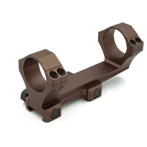 SIG Sauer Alpha 2 One Piece Scope Mount Picatinny Mount 30mm Diameter Integral Scope Rings For AR-15 Aluminum FDE