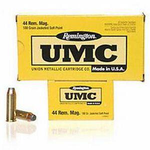 Remington UMC .44 Rem Mag 180 JSP 50 Round Box
