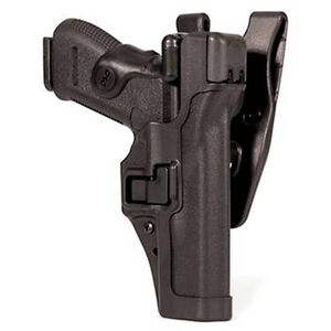 BLACKHAWK! Level 3 SERPA Duty Belt Holster SIG 220, 226, 228, 229 Right Hand Black Carbon Fiber