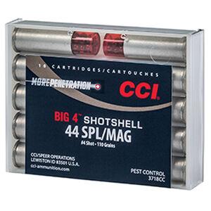 CCI .44 Special/.44 Magnum Ammunition 10 Rounds Shotshell #4 Lead Shot