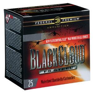 """Federal Black Cloud FS Steel 12 Gauge Ammunition 250 Rounds 3.5"""" #4 FS Steel 1-1/2oz 1500fps"""