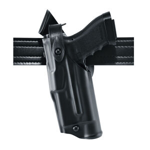 Safariland 6360 Mid Ride S&W M&P 9/40 with Light ALS/SLS Level III Retention Light Bearing Duty Holster Left Hand STX Tactical Black 6360-2192-132