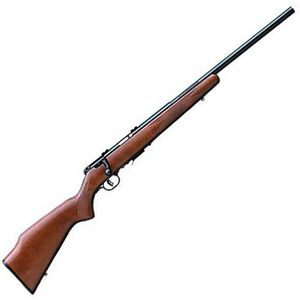 "Savage Model 93R17GV Bolt Action Rifle .17 HMR 21"" Barrel 5 Rounds Walnut Stock Blued Finish 96701"