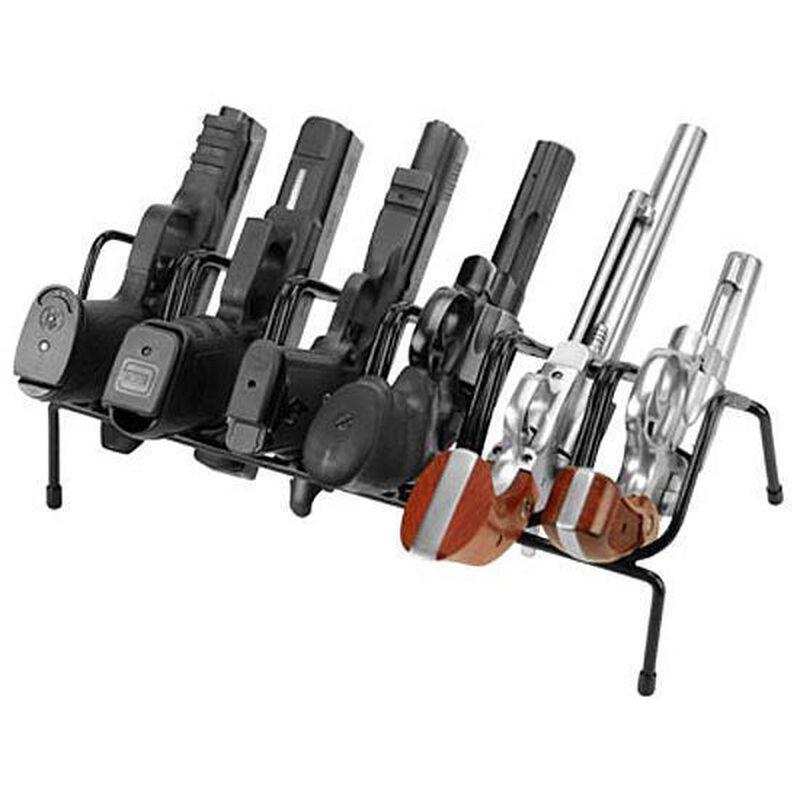 Lockdown 6 Handgun Rack Over-Molded Wire Construction Matte Black Finish