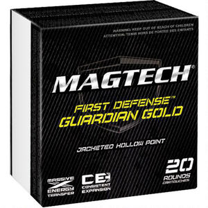Magtech Guardian Gold .45 ACP +P Ammunition 1000 Rounds JHP 230 Grains GG45BCS